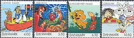 Denemarken 2002 Strips