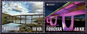 The Faroes 2018 Europe Stamps