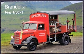 The Faroes 2016 Booklet Old Fire Trucks