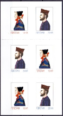 The Faroes 2018 Booklet Nationale Costumes III