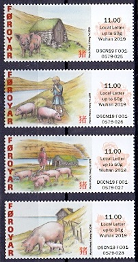 The Faroes 2019 Frankinglabels Wuhan 2019