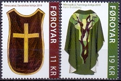 The Faroes 2019 Chasubles