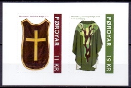 The Faroes 2019 Chasubles from Booklet