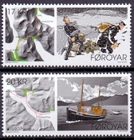 The Faroes 2020 Europe Stamps from Booklet