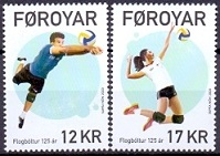 The Faroes 2020 Volleyball 125 years