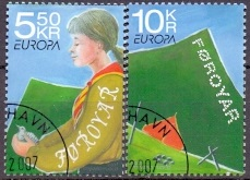The Faroes 2007 Europe stamps