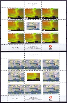 Greenland 2012 Block Europe stamps