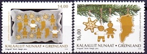 Greenland 2018 Christmas Stamps