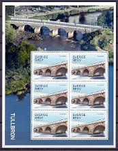 Sweden 2016 Souvenirsheet Bridges