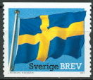 Sweden 2011 The Swedisch flag 500 years Coil stamp