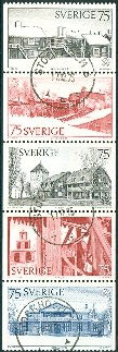 Sweden 1975 Architectural Heritage Year HBL