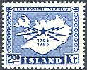 Iceland 1956 50th Anniversary of Telegraph Services