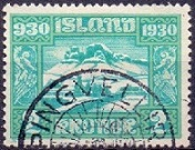 Iceland 1930 2kr The Parliament