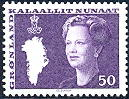 Greenland 1989 50 öre Margrethe type III from H 1.
