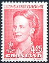 Greenland 1996 4.25 Margrethe IV from booklet